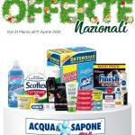 Acqua & Sapone 21 Marzo – 11 Aprile 2021