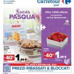 Carrefour Buona Pasqua al 5 Aprile 2021