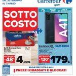 Carrefour Sottocosto al 7 Marzo 2021