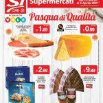 Si con Te supermercati Pasqua di Qualita al 5 Aprile 2021