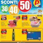 D-Piu SCONTI 30-50% al 2 Maggio 2021