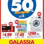 Galassia Sconti 50% 26 Aprile – 5 Maggio 2021