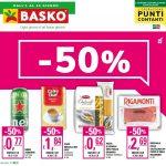Basko Sconto -50% 1-14 Giugno 2021
