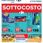 Carrefour Sottocosto al 5 Settembre 2021
